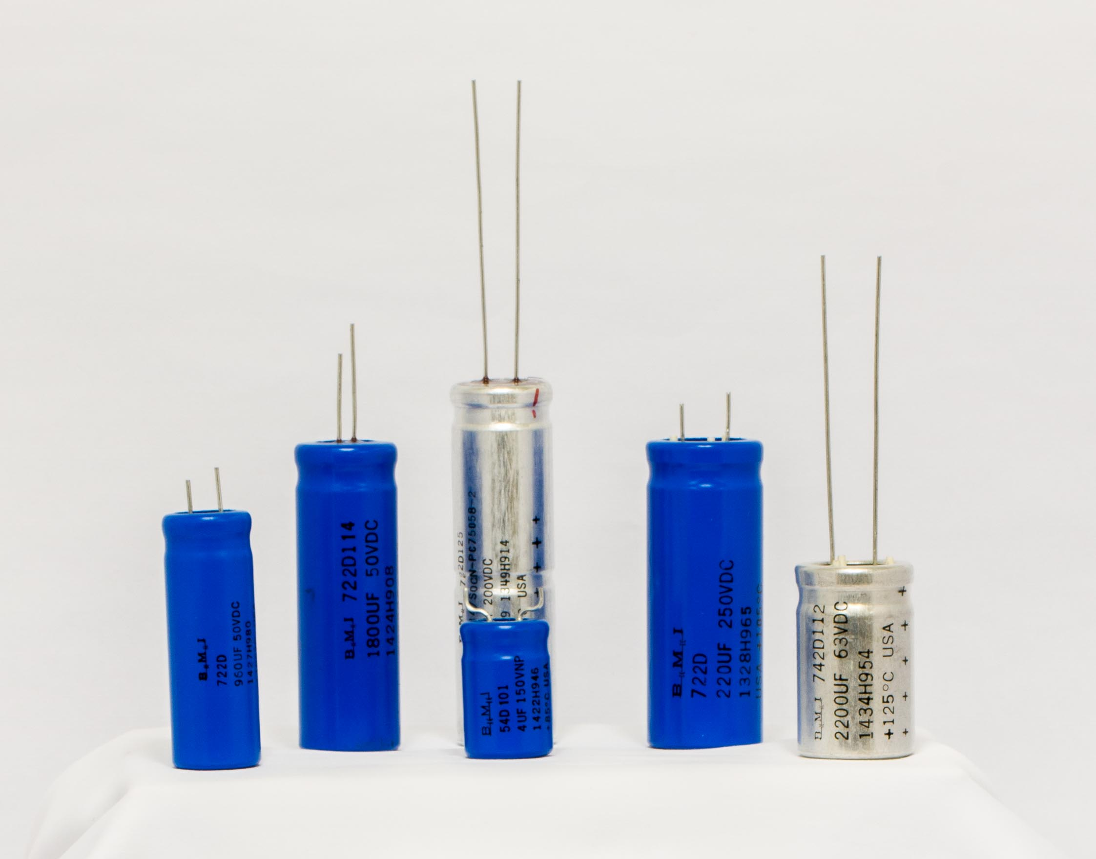 Tubular Radial Capacitors